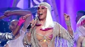 Cher performing at 2017 Billboard Awards